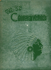 1952 Edition, Central High School - Chieftain Yearbook (Muskogee, OK)
