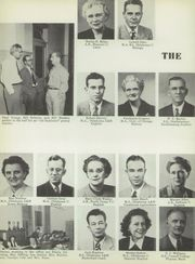 Page 14, 1952 Edition, Central High School - Chieftain Yearbook (Muskogee, OK) online yearbook collection