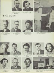 Page 15, 1952 Edition, Central High School - Chieftain Yearbook (Muskogee, OK) online yearbook collection