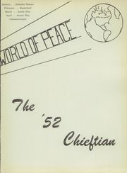 Page 7, 1952 Edition, Central High School - Chieftain Yearbook (Muskogee, OK) online yearbook collection