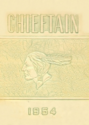 1954 Edition, Central High School - Chieftain Yearbook (Muskogee, OK)