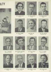 Page 15, 1956 Edition, Central High School - Chieftain Yearbook (Muskogee, OK) online yearbook collection