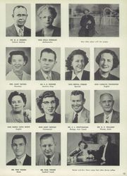 Page 17, 1956 Edition, Central High School - Chieftain Yearbook (Muskogee, OK) online yearbook collection