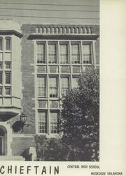 Page 7, 1956 Edition, Central High School - Chieftain Yearbook (Muskogee, OK) online yearbook collection