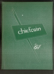 1961 Edition, Central High School - Chieftain Yearbook (Muskogee, OK)