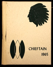 1965 Edition, Central High School - Chieftain Yearbook (Muskogee, OK)