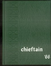 1966 Edition, Central High School - Chieftain Yearbook (Muskogee, OK)