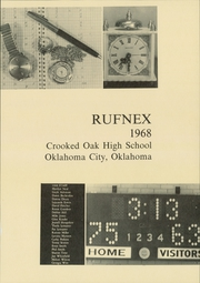 Page 5, 1968 Edition, Crooked Oak High School - Rufnex Yearbook (Oklahoma City, OK) online yearbook collection