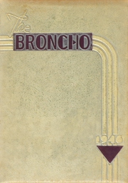 Page 1, 1946 Edition, Bethany High School - Broncho Yearbook (Bethany, OK) online yearbook collection