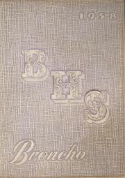 Page 1, 1958 Edition, Bethany High School - Broncho Yearbook (Bethany, OK) online yearbook collection