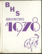 1978 Edition, Bethany High School - Broncho Yearbook (Bethany, OK)