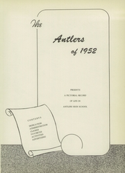 Page 3, 1952 Edition, Antlers High School - Yearbook (Antlers, OK) online yearbook collection