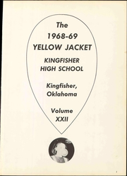Page 7, 1969 Edition, Kingfisher High School - Yellow Jacket Yearbook (Kingfisher, OK) online yearbook collection