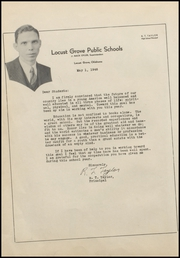 Page 10, 1946 Edition, Locust Grove High School - Treasure Chest Yearbook (Locust Grove, OK) online yearbook collection