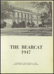 Page 5, 1947 Edition, Hobart High School - Bearcat Yearbook (Hobart, OK) online yearbook collection