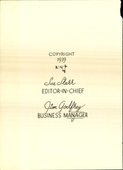 Page 6, 1939 Edition, Central High School - Cardinal Yearbook (Oklahoma City, OK) online yearbook collection
