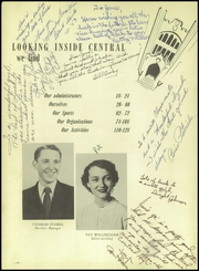 Page 8, 1952 Edition, Central High School - Cardinal Yearbook (Oklahoma City, OK) online yearbook collection