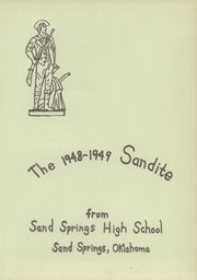 Page 7, 1949 Edition, Sand Springs High School - Sandite Yearbook (Sand Springs, OK) online yearbook collection