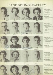 Page 10, 1955 Edition, Sand Springs High School - Sandite Yearbook (Sand Springs, OK) online yearbook collection