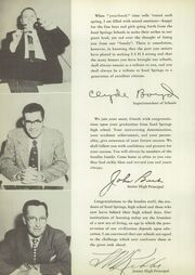 Page 8, 1955 Edition, Sand Springs High School - Sandite Yearbook (Sand Springs, OK) online yearbook collection