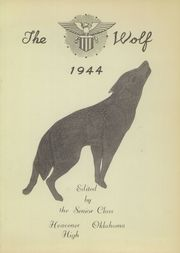 Page 5, 1944 Edition, Heavener High School - Wolf Yearbook (Heavener, OK) online yearbook collection