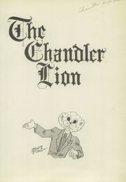 Page 5, 1947 Edition, Chandler High School - Lion Yearbook (Chandler, OK) online yearbook collection