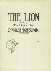 Page 5, 1948 Edition, Chandler High School - Lion Yearbook (Chandler, OK) online yearbook collection