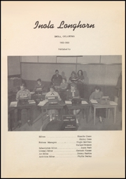 Page 7, 1953 Edition, Inola High School - Longhorn Yearbook (Inola, OK) online yearbook collection