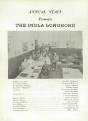 Page 6, 1956 Edition, Inola High School - Longhorn Yearbook (Inola, OK) online yearbook collection