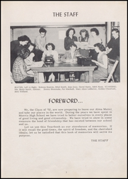 Page 7, 1952 Edition, Morris High School - Eagle Yearbook (Morris, OK) online yearbook collection