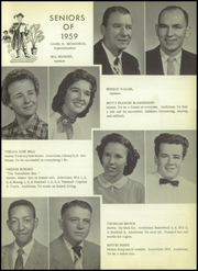 Page 15, 1959 Edition, Morris High School - Eagle Yearbook (Morris, OK) online yearbook collection