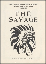 Page 5, 1946 Edition, Wynnewood High School - Savage Yearbook (Wynnewood, OK) online yearbook collection