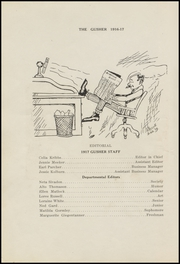 Page 16, 1917 Edition, Drumright High School - Gusher Yearbook (Drumright, OK) online yearbook collection