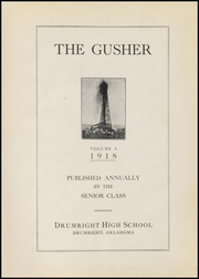Page 7, 1918 Edition, Drumright High School - Gusher Yearbook (Drumright, OK) online yearbook collection