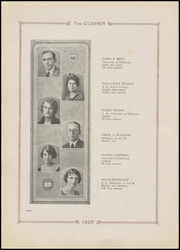 Page 16, 1925 Edition, Drumright High School - Gusher Yearbook (Drumright, OK) online yearbook collection