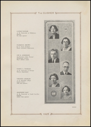 Page 17, 1925 Edition, Drumright High School - Gusher Yearbook (Drumright, OK) online yearbook collection