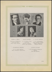 Page 17, 1926 Edition, Drumright High School - Gusher Yearbook (Drumright, OK) online yearbook collection