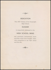 Page 8, 1937 Edition, Drumright High School - Gusher Yearbook (Drumright, OK) online yearbook collection