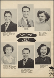 Page 15, 1951 Edition, Berryhill High School - Chief Yearbook (Tulsa, OK) online yearbook collection