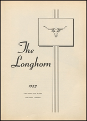Page 7, 1953 Edition, Lone Grove High School - Longhorn Yearbook (Lone Grove, OK) online yearbook collection