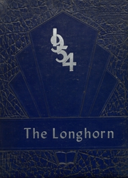 1954 Edition, Lone Grove High School - Longhorn Yearbook (Lone Grove, OK)