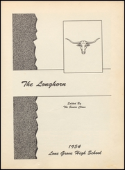 Page 5, 1954 Edition, Lone Grove High School - Longhorn Yearbook (Lone Grove, OK) online yearbook collection
