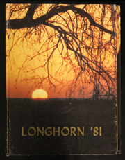 1981 Edition, Lone Grove High School - Longhorn Yearbook (Lone Grove, OK)