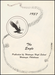 Page 5, 1957 Edition, Watonga High School - Eagle Yearbook (Watonga, OK) online yearbook collection
