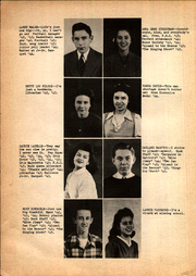 Page 14, 1945 Edition, Hominy High School - Buck Yearbook (Hominy, OK) online yearbook collection