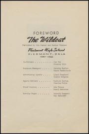 Page 7, 1948 Edition, Piedmont High School - Wildcats Yearbook (Piedmont, OK) online yearbook collection