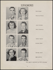 Page 12, 1952 Edition, Piedmont High School - Wildcats Yearbook (Piedmont, OK) online yearbook collection