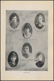 Page 17, 1918 Edition, Mangum High School - Tiger Yearbook (Mangum, OK) online yearbook collection