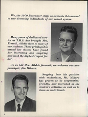 Page 8, 1970 Edition, Tonkawa High School - Buccaneer Yearbook (Tonkawa, OK) online yearbook collection