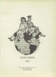 Page 5, 1955 Edition, Vian High School - Wolverine Yearbook (Vian, OK) online yearbook collection